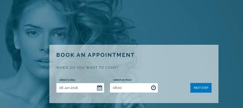 Creare web site pentru salon