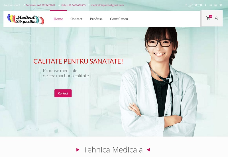 Medical Technology Product Store