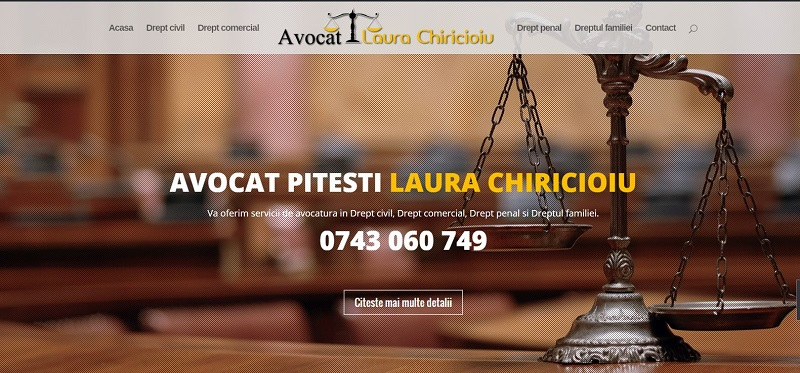 ATTORNEY LAURA Pitesti CHIRICIOIU