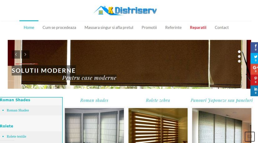 K-distriserv, Catalogue of modern blinds